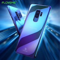 FLOVEME All type Case Samsung Galaxy S6 S7 Edge S8 Plus Cover Blue Ray