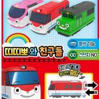 Titipo Train n Friends Pullback Original ICONIX - Titipo Diesel Genie