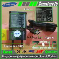 Charger samsung original sein resmi seri A note 8 S9 s9plus casan