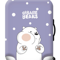 WE BARE BEARS elastic luggage cover sarung pelindung koper size XL