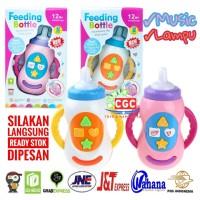 Mainan Feeding Bottle Botol Minum Musik Lampu Edukasi Anak SNI