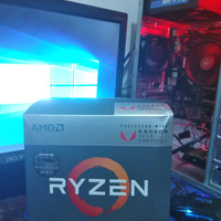 PC Rakitan Mid End Ryzen 3 2200G ,Bonus Headset+Rexus Warfaction