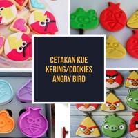Cetakan Kue Kering/Cookies/Biskuit Angry Bird 4 Model