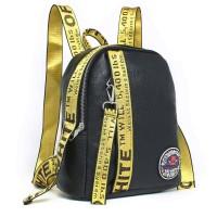 tas wanita elegan hitam black ransel tote murah kuliah pergi mall