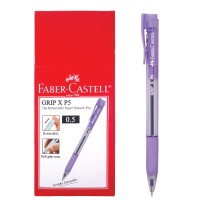 Ballpoint Grip XP 0.5 mm Barrel Violet - Box isi 10pcs