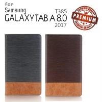 Samsung Galaxy Tab A 8 8.0 A8 2017 T385 - Oxford Leather Flip Case