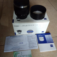 Lensa Planar carl zeiss. F 1.4.  85mm untuk canon