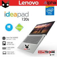 Notebook Lenovo Ideapad 120s 6iD Ultrabook + SSD Windows 10 Laptop 14