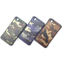 JUAL OPPO R7 LITE R7S BACK COVER CASING HP SOFTCASE HARD BUMPER ARMY