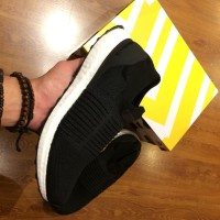 871ad1d48 Adidas Ultra Boost Laceless Core Black Black White UA BNIB