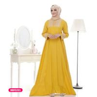 Gamis wanita muslim dress kania