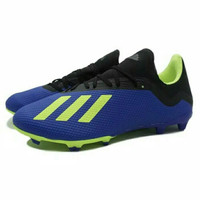 Sepatu Bola Adidas X 18.3 FG (Football Blue/Solar Yellow)