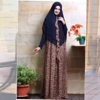 Maghali In Black Gamis Wanita Syari Original By Jawhara Syari