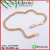 XUPING GELANG EMAS RANTE 4mm 0131180468