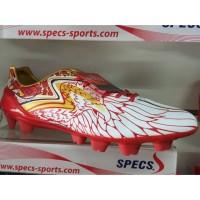 Kicosport Sepatu bola specs accelerator garuda fg white red original