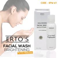 ERTOS Facial Wash Brightening Original