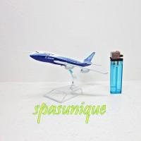 Pajangan Miniatur Diecast Pesawat BOEING 747
