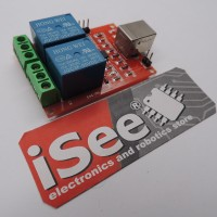 Jual 2 Channel Relay USB Programmable Control Switch