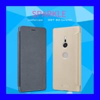 Sony Xperia XZ2 - Nillkin Sparkle Flip Case Casing Cover