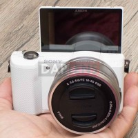 [DAPLENS] Sony A5000 kit 16-50mm OSS White Mirrorless Dus Bonus