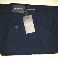 Celana Panjang Pria Arrow Biru Navy