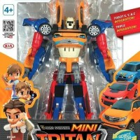 Tobot Mini tritan Transformer X Y& Z Youngtoys