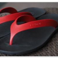 Sandal Pria Sandal Keren Sandal Jepit Sandal Camou Flipflops Red Black