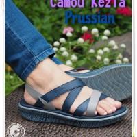 Sepatu Sandal Wanita Sandal Keren trendy Sandal Camou Kezia Prussian