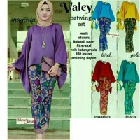 Baju Batik Valeria Kebaya Pesta Wanita Modern Size Jumbo Xxl Muslim
