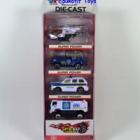 Diecast Aneka Mobil Ambulance