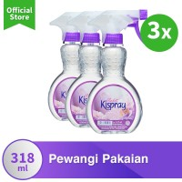 Kispray Botol Violet 318Ml x3