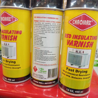 Chromax red insulating varnish/sirlak/varnish gulungan dinamo kop