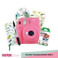 HOLIDAY PACKAGE INSTAX MINI 9