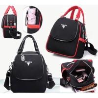 tas punggung ransel wanita import multifungsi unik model koper mini 64
