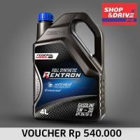 E-Voucher Shop n Drive Federal Mobil Rextron 5W 30 Full Synthetic 4L