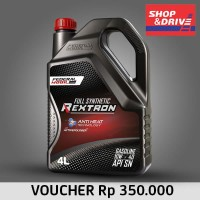 E-Voucher Shop n Drive Federal Mobil Rextron 10W 40 Full Synthetic 4L