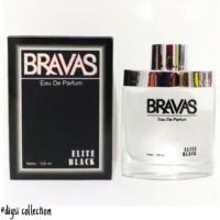 BUY1GET1 Parfum Pria Masculine Bravas Elite Black Edp 1 Diskon