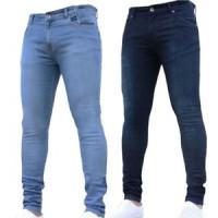 Jual Celana Pria Mens Fashion Hip Hop Jeans Straight Mid Waist Slim Long Pe Jakarta Pusat Indoknivezia Tokopedia