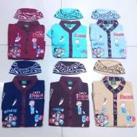 Koko Anak Muslim KARTUN Baju Setelan Pakaian Gamis Anak Lucu