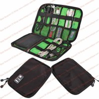 Tas Organizer Aksesoris Komputer USB Kabel Cas Flashdisk Wifi Anti Air