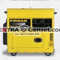 Genset Silent Firman FDG9000SE2. Diesel Solar
