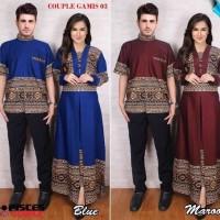 dress couple gamis 03 maxi dress lengan panjang - baju pasangan terusa