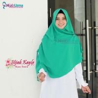 Hijab murah  jilbab hijab wolfis kerudung instan Hijau Tosca