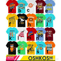Oshkosh boys size 246810 baju anak branded ecer grosir murah kaos laki