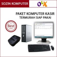 Promo Komputer + software kasir bonus printer plus barcode scanner
