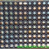 Keset/Karpet Karet Anti Slip Lubang Kompos Ukuran 40x60cm