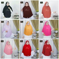 Jual Hijab Arrafi AR 45 Jumbo Jilbab Instan Serut Tali Belakang Murah