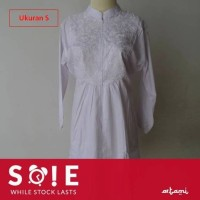 Baju Ihrom Katun Tebal Wanita Model Celana Komplit ukuran S Jumbo