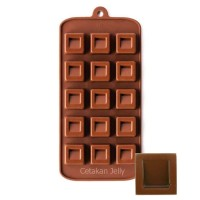 Cetakan Silikon Coklat Puding Boxes   Perabot