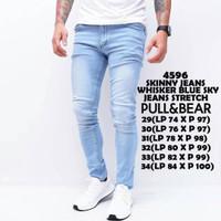 Harga whisker blue jeans skinny biru muda jins celana panjang slim | Pembandingharga.com
